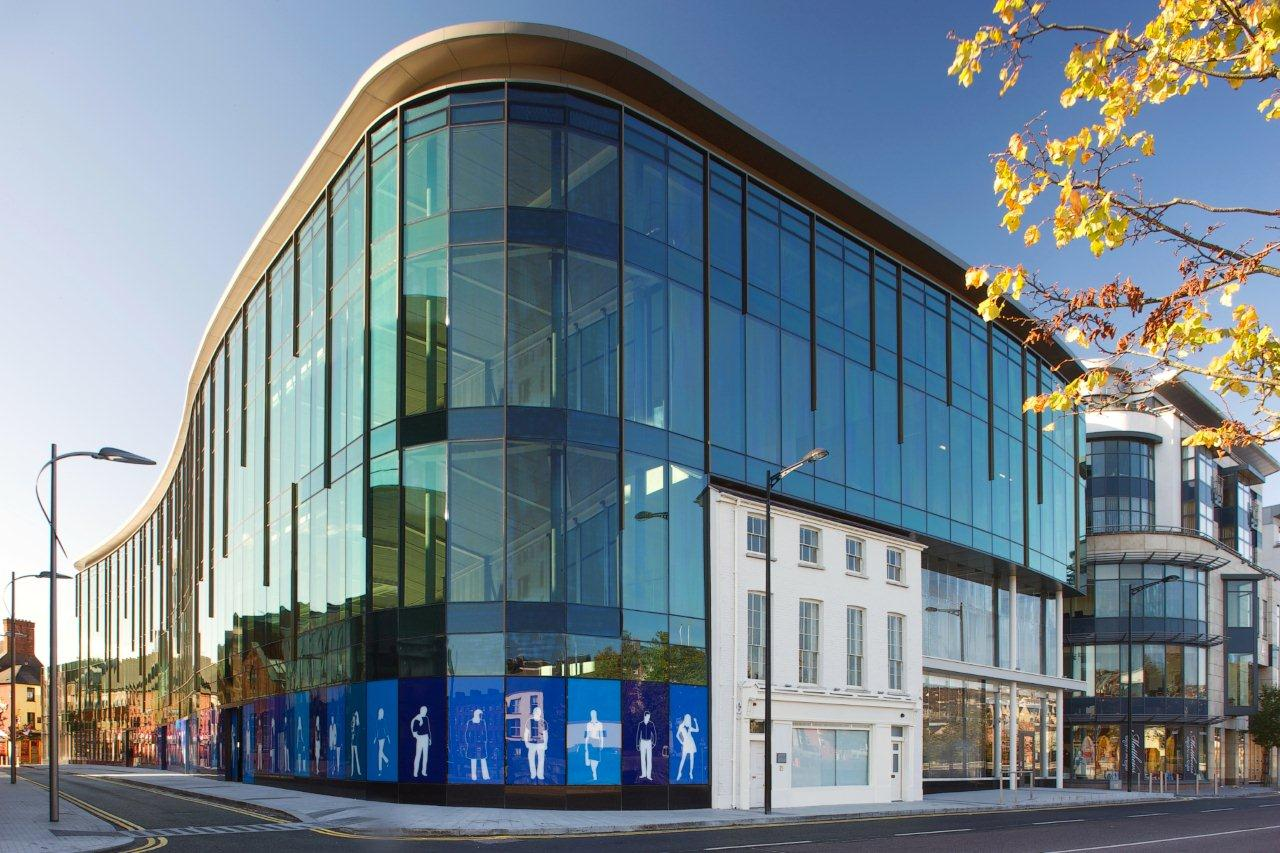 Stick Curtain Walling - Duggan Systems